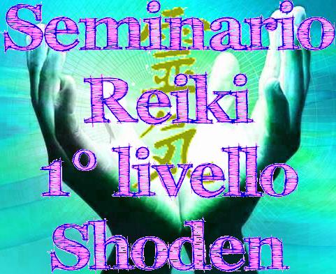 Seminario Reiki 1